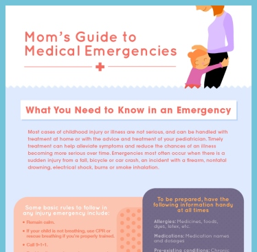 Mom's Guide to Medical Emergencies Preview