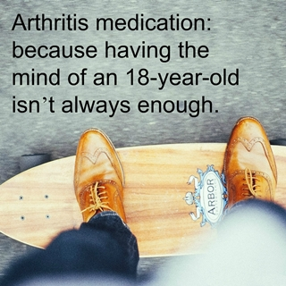 Simple mind of arthritis