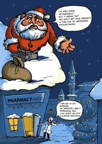 Santa Gift for A Pharmacist preview