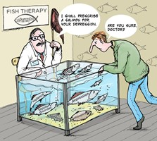 Depressed? Try Fish Therapy preview