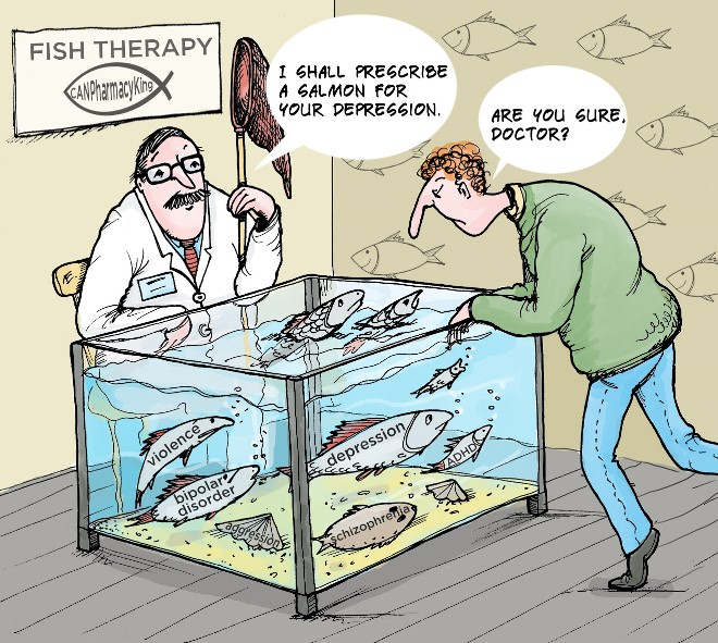 Depressed? Try Fish Therapy
