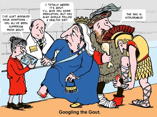Googling the Gout