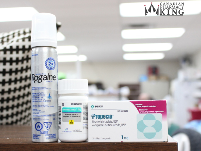 Photo Credit: Hair loss drugs from Canadian Pharmacy King