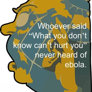 Spread the words about Ebola