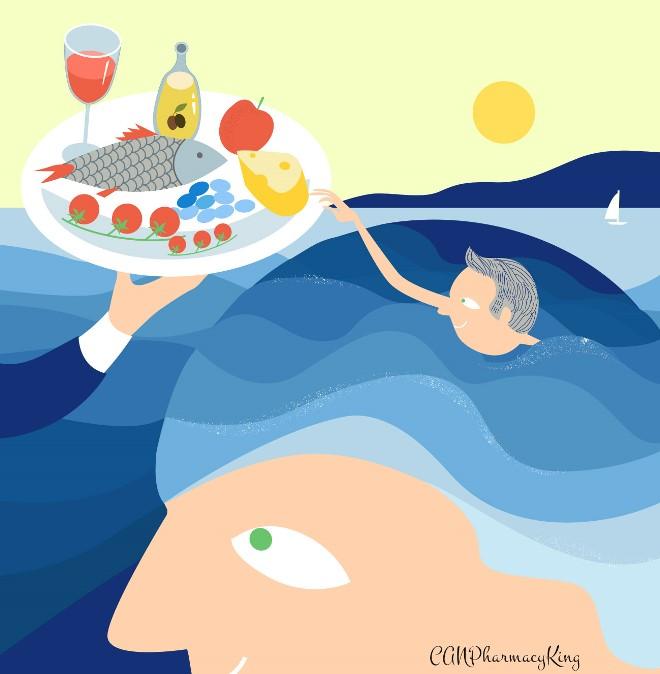 Brain Benefits from Mediterranean Diet