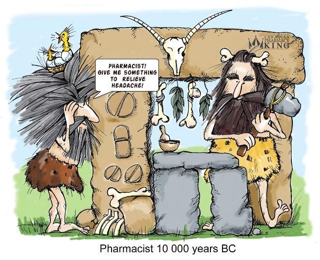Pharmacist 10000 years BC