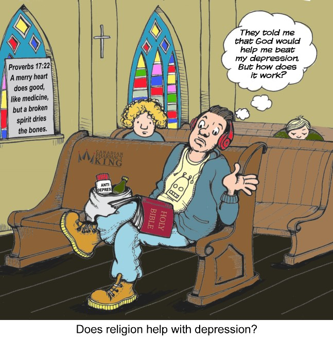 Does Religion help with depression