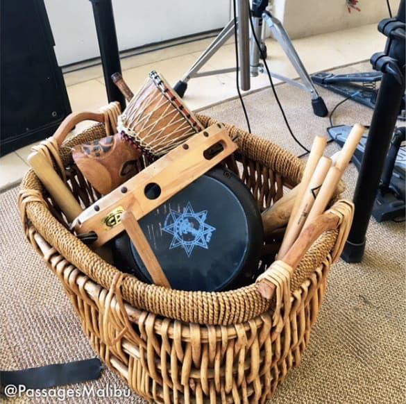 Sound therapy instruments: Courtesy of PassagesMalibu.com