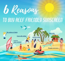 6 Reasons to Buy Reef Friendly Sunscreen infographic preview