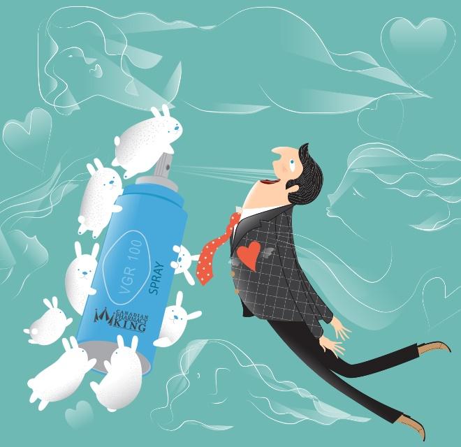 Approach Love with A Viagra Spray